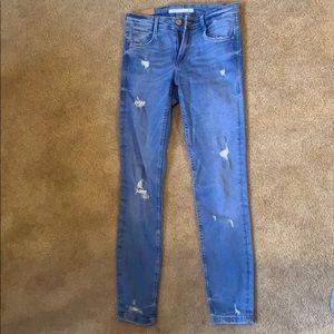 Zara Skinnt Jeans 0